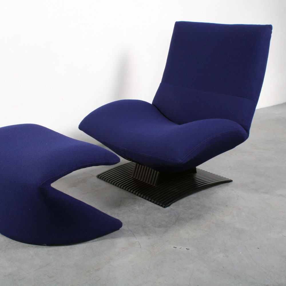 Artifort Wave chair design Peter van der Ham fauteuil