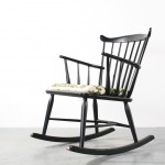 Borge Mogensen design Rocking chair Schommelstoel FDB Mobler