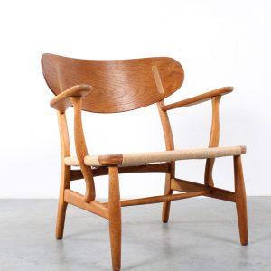 CH22 Hans Wegner chair design fauteuil jaren 50