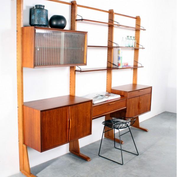 Cadovius wandsysteem design wall unit Royal System