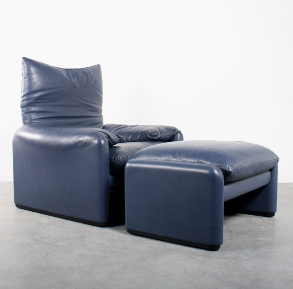 Cassina Maralunga design Vigo Magistretti chair fauteuil