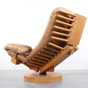 Dutch design Fish Bone fauteuil easy chair