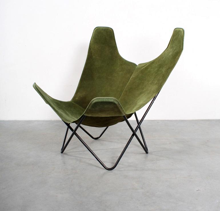 Ferrar Hardoy Butterfly design chair Knoll