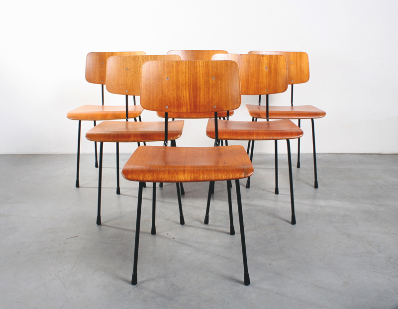 Gispen design stoelen Cordemeyer chairs