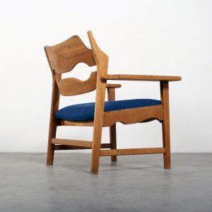 Henning Kjaernulf design Danish chair