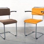 Gispen 201 stoelen tubular chairs