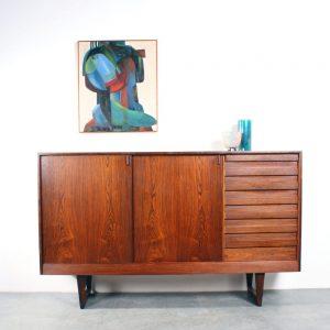Kurt Ostervig design sideboard KP Mobler Danish rosewood Deens dressoir palissander