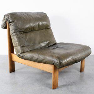 Leolux fauteuil design chair retro jaren 60 70
