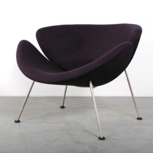 Orange Slice Artifort chair design Pierre Paulin fauteuil