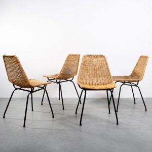 Rohé Noordwolde chairs Sliedregt design rotan stoelen