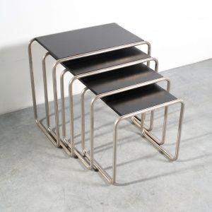 Thonet B9 salontafel table Bauhaus design Marcel Breuer