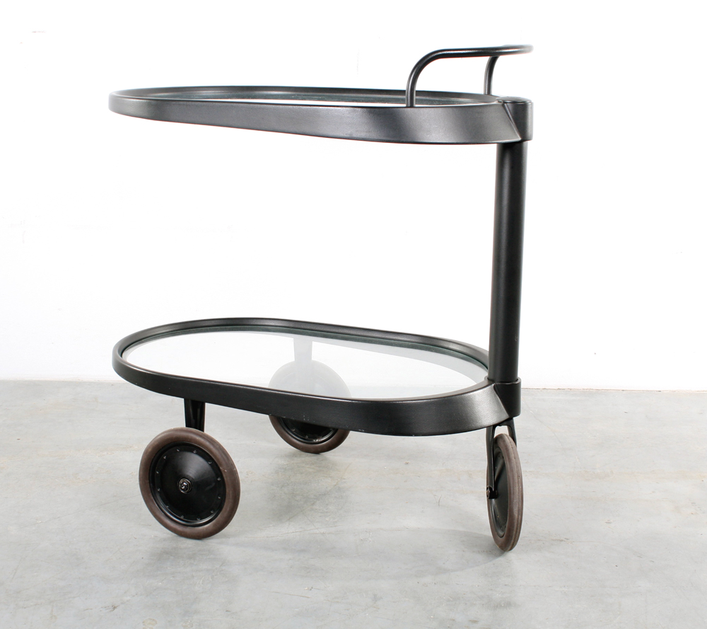 Studio1900 Alessi Trolley Design Enzo Mari Bar Cart
