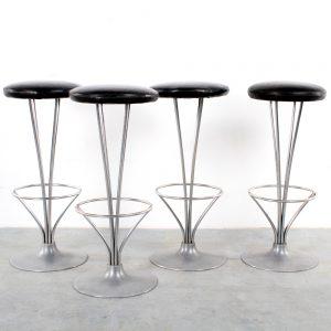 Fritz Hansen bar stool Piet Hein design kruk retro
