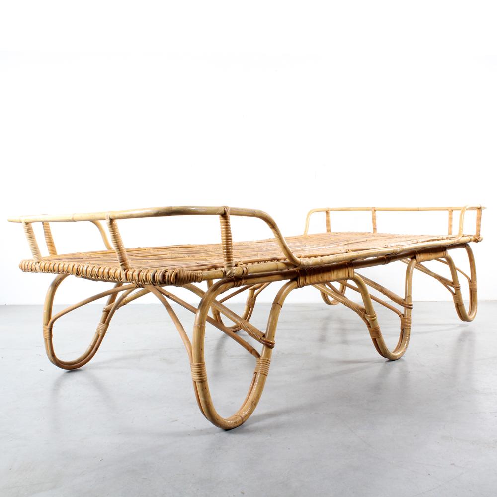 Studio1900 Rotan Bed Daybed Rattan Design Roh Noordwolde
