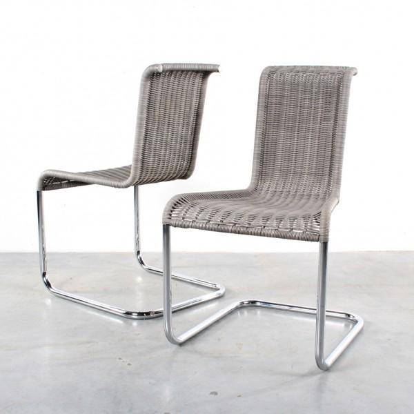 Tecta B3 chairs stoelen design wicker Stefan Wewerka