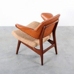 Webe design van Teeffelen chair fauteuil teak