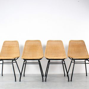 Dirk van Sliedregt stoelen design rotan Rohé Noordwolde rattan chairs