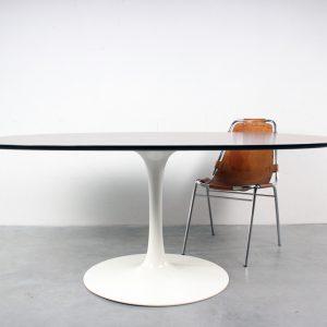 Arkana tulip table design rosewood tafel Maurice Burke