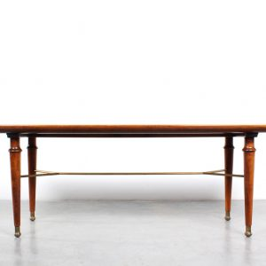 Patijn coffee table fifties design marble walnut