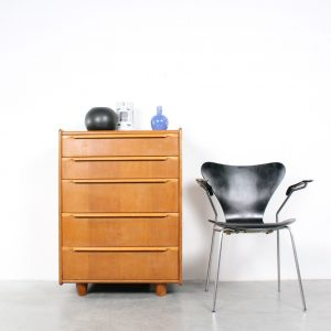 Pastoe oak chest of drawers design Cees Braakman eiken ladenkast