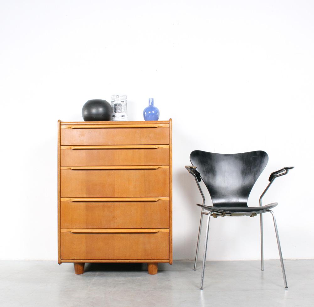 Pastoe oak chest of drawers design Cees Braakman eiken ladenkast