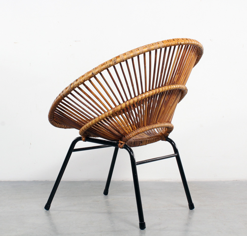 Rattan Chairs Design Rohé Rotan Fauteuil