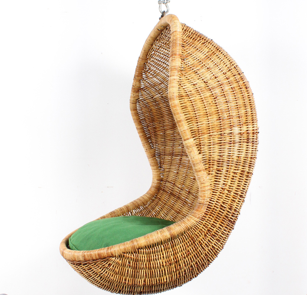 studio1900 dirk van sliedregt chair rattan hanging egg rotan. Black Bedroom Furniture Sets. Home Design Ideas