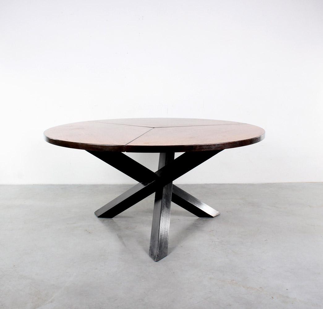 Martin Visser table design wenge tafel Spectrum retro