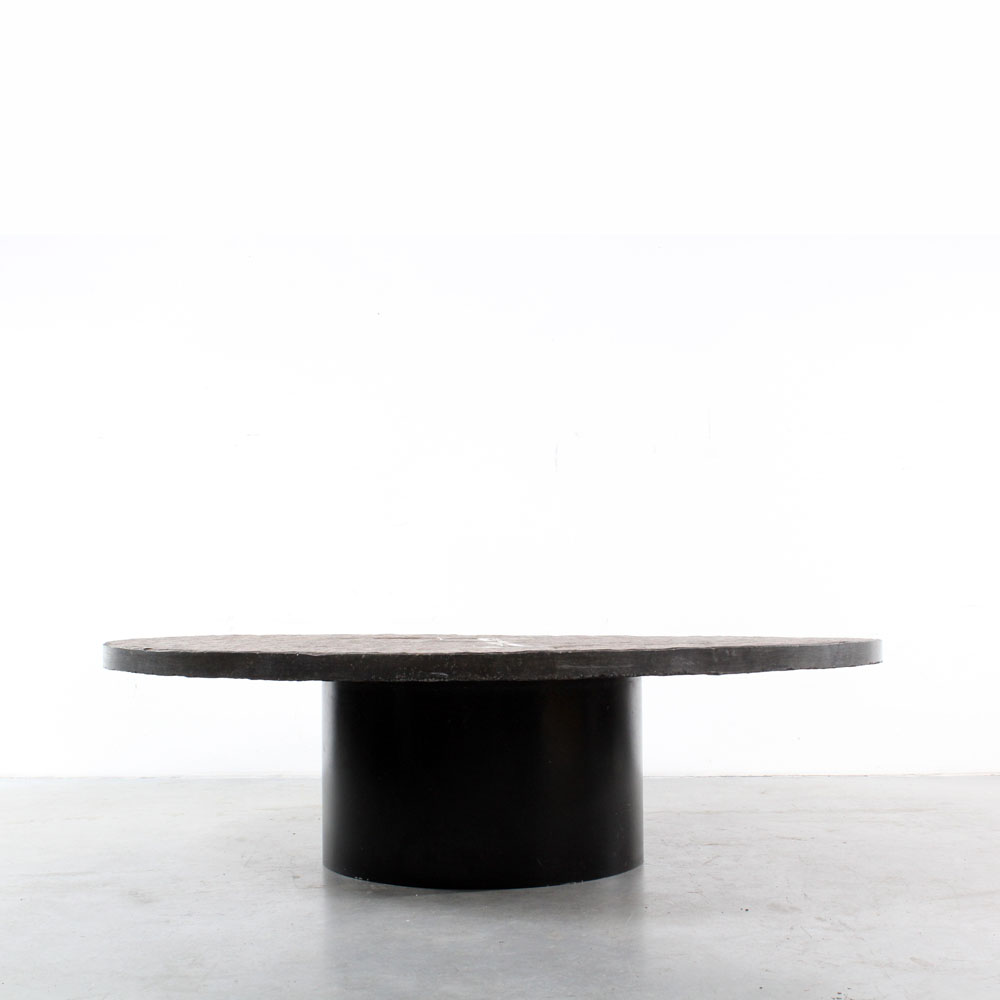 Paul Kingma art design coffee table brutalist stone