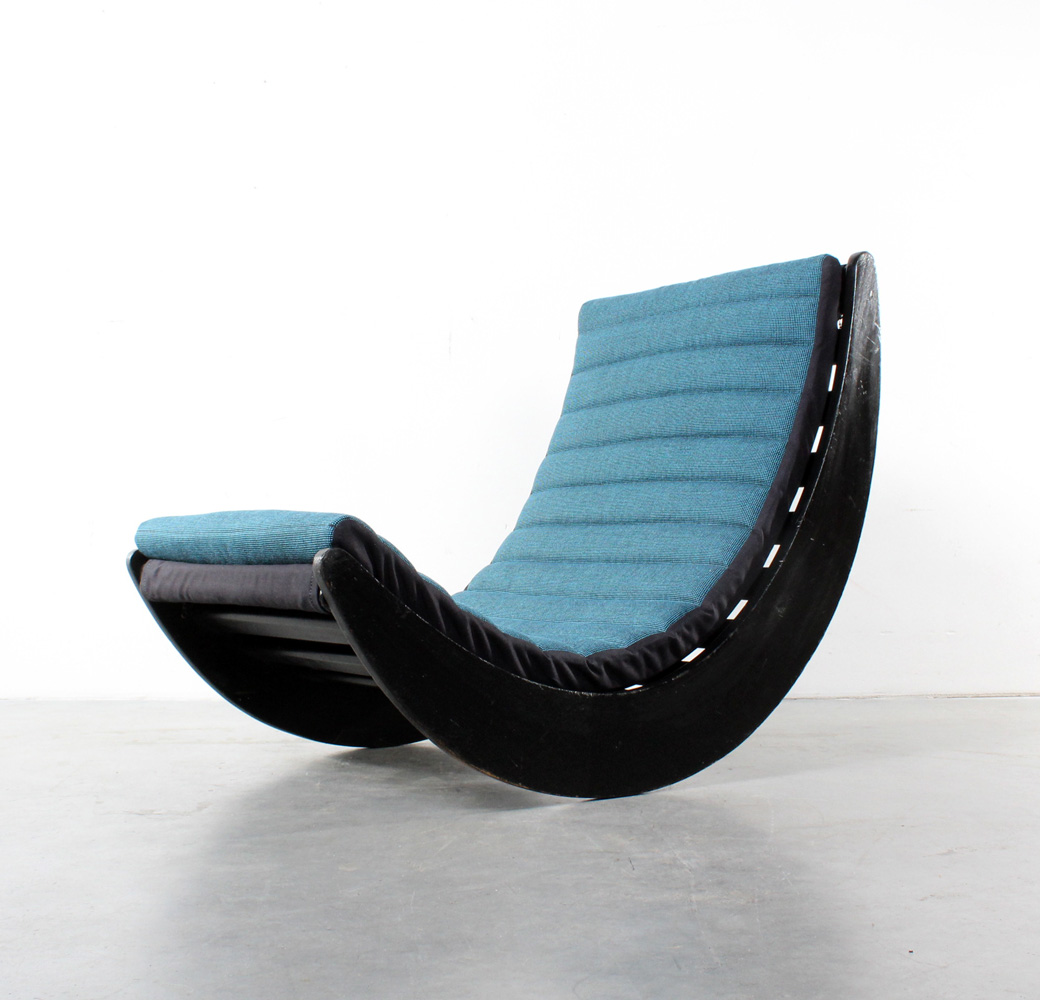 Verner Panton rocking Relaxer chair design Rosenthal
