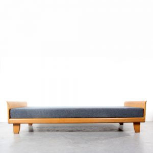 Daybed Pastoe Perriand design oak fifties deco