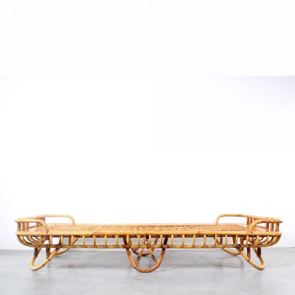 Rohé daybed rattan bed rotan design retro
