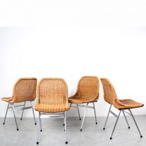 Dirk van Sliedregt chairs rattan design stoelen rotan