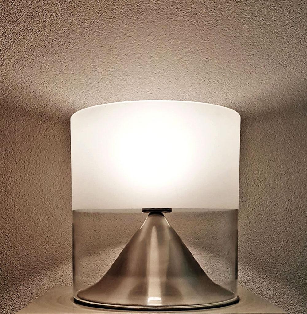 Raak table lamp design Mont Cenis