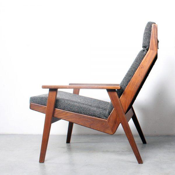 Rob Parry chairs teak Lotus design Gelderland