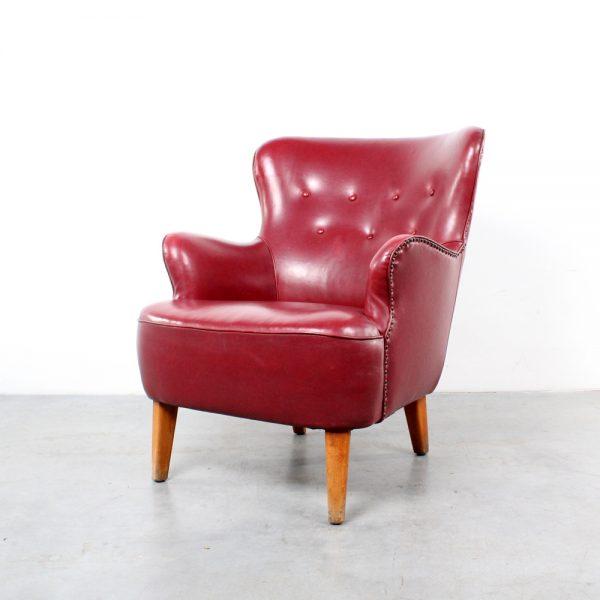Artifort design Theo Ruth fauteuil fifties chair