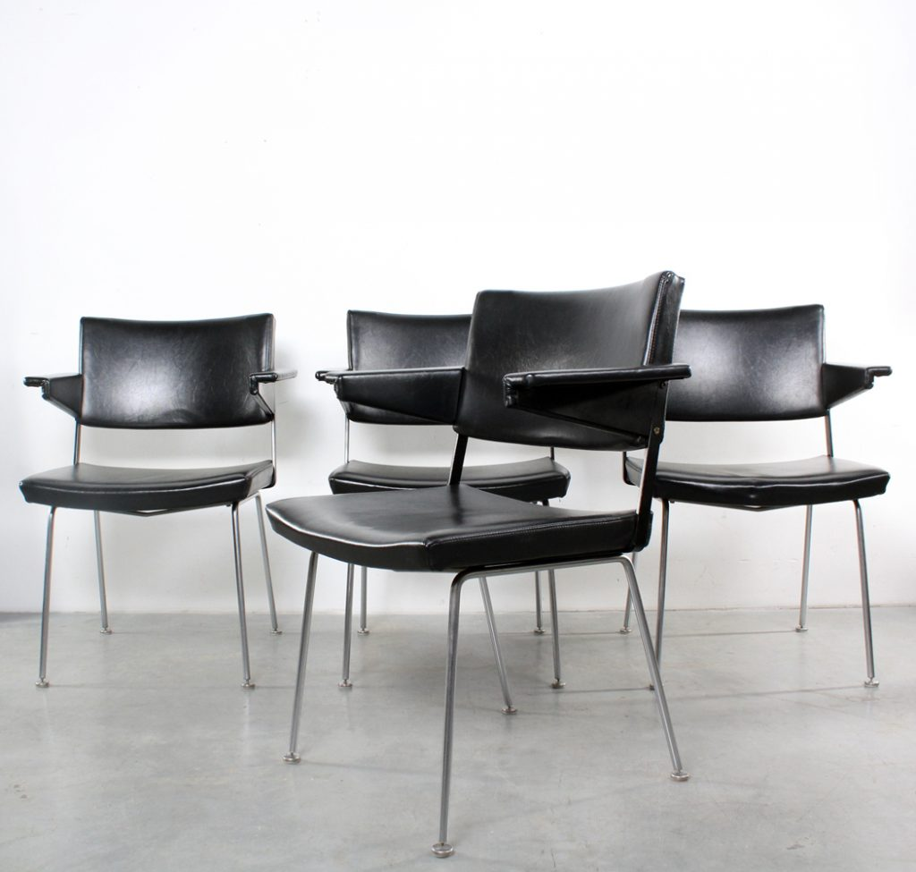 Gispen design chairs Cordemeyer stoelen 1268