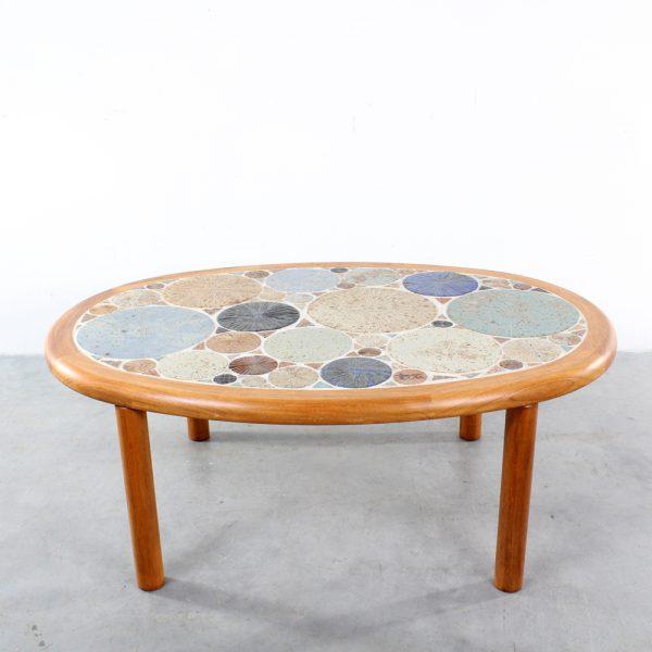 Haslev ceramic Tue Poulsen coffee table Danish design