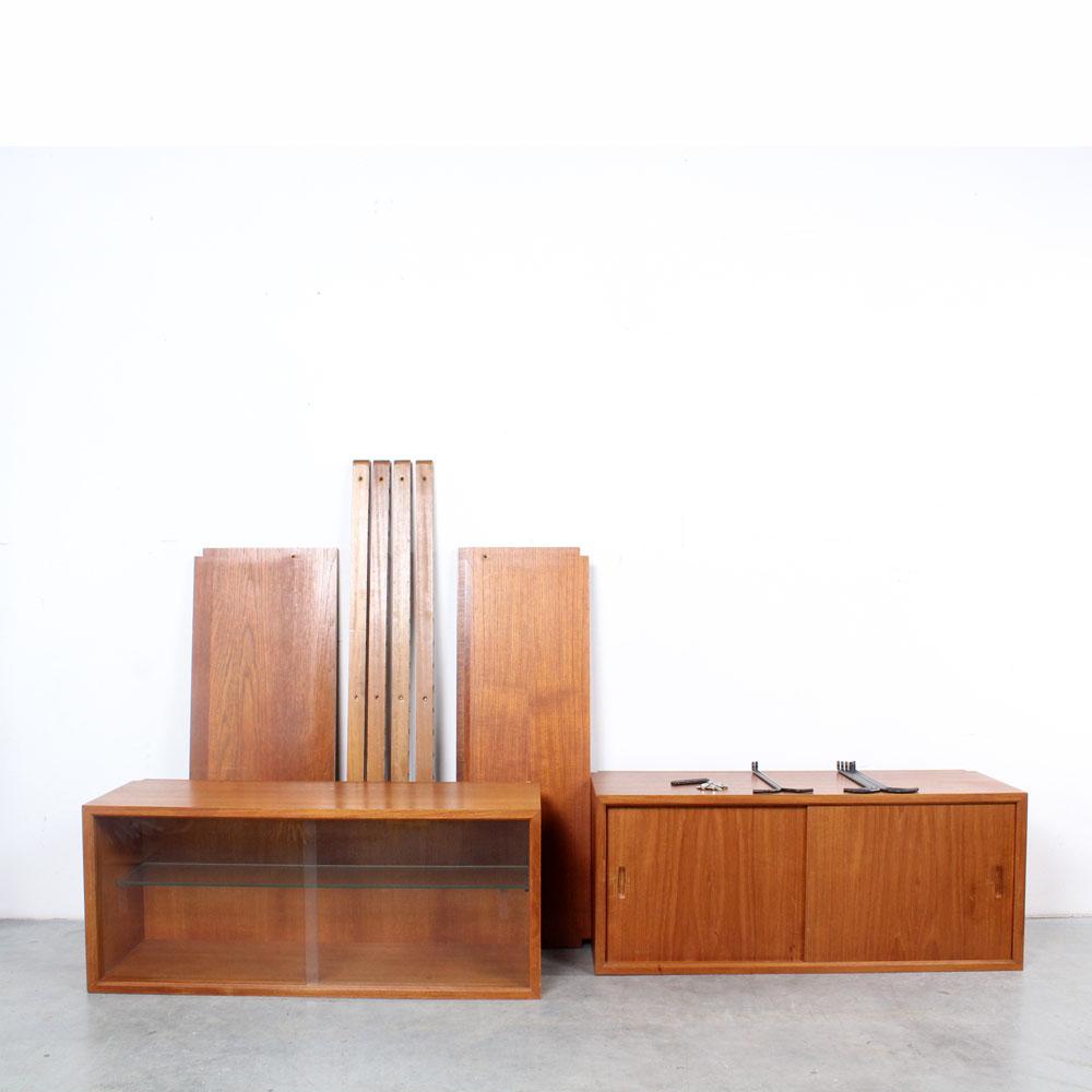Poul Cadovius wall unit design Royal System wandsysteem teak