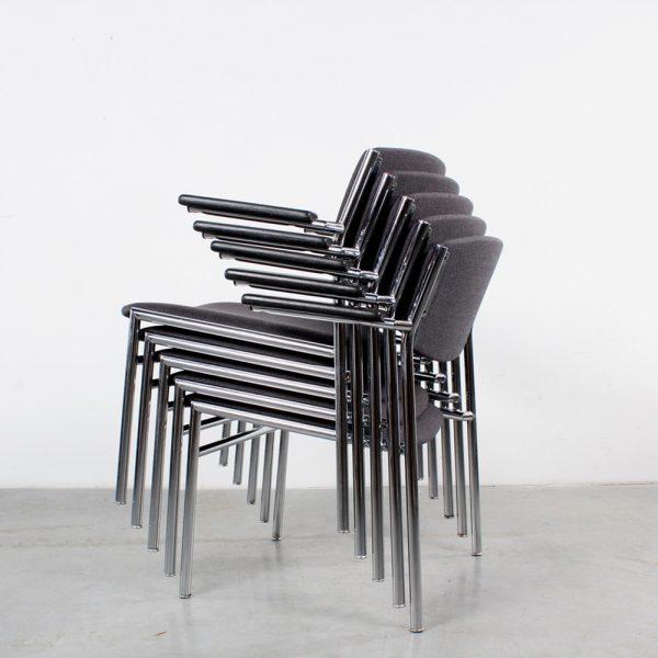 Gijs van der Sluis chairs design armchair stackable