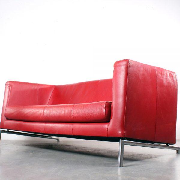 Montis sofa Kubik red design Gerard van den Berg