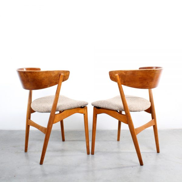 Sibast Danish design chairs 7 stoelen teak