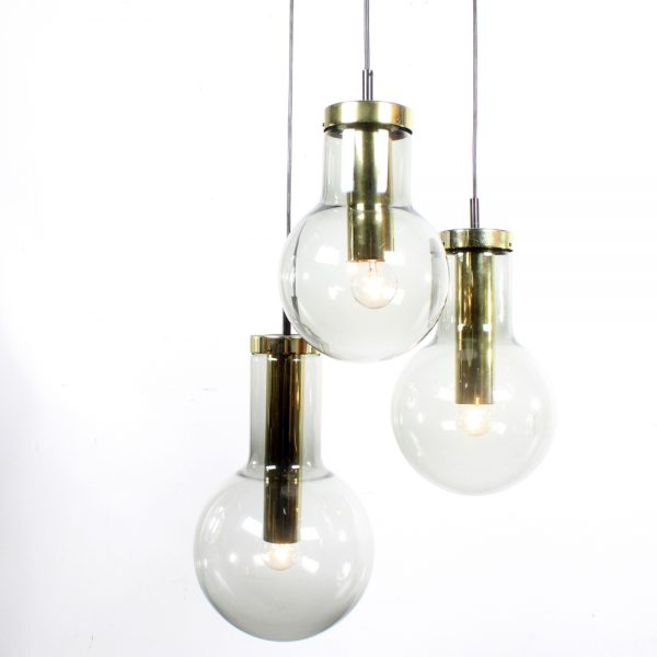 Raak lamp Maxi Globe design glass brass