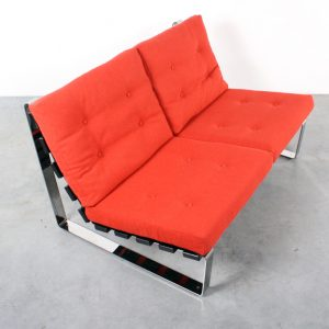 Bank sofa Artifort design Kho Liang Ie Spectrum retro