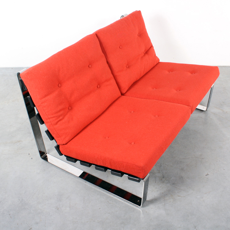 bank sofa artifort design kho liang ie spectrum retro - Banksofa