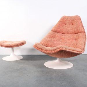 Artifort chair fauteuil F590 design Harcourt