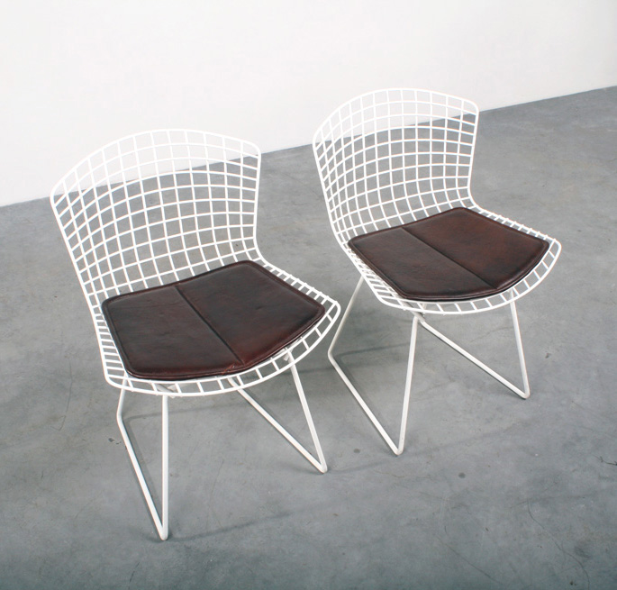 Design Stoelen Vintage.Bertoia Side Chairs Knoll Design Stoelen Studio1900
