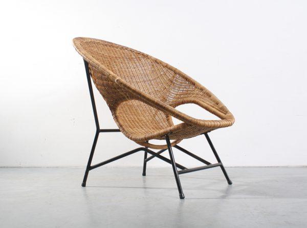 Dirk van Sliedregt chair Fauteuil design rotan Jonkers