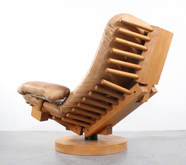 Dutch design Fish Bone fauteuil easy chair