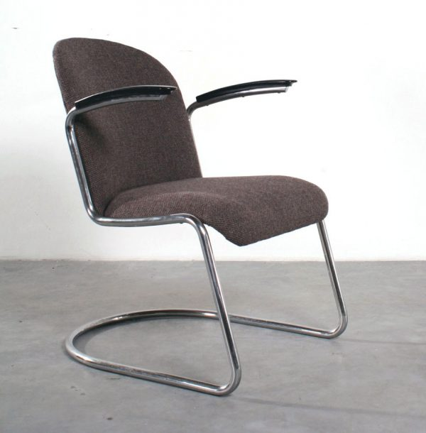 Fauteuil 413 Gispen oud model tubular chair